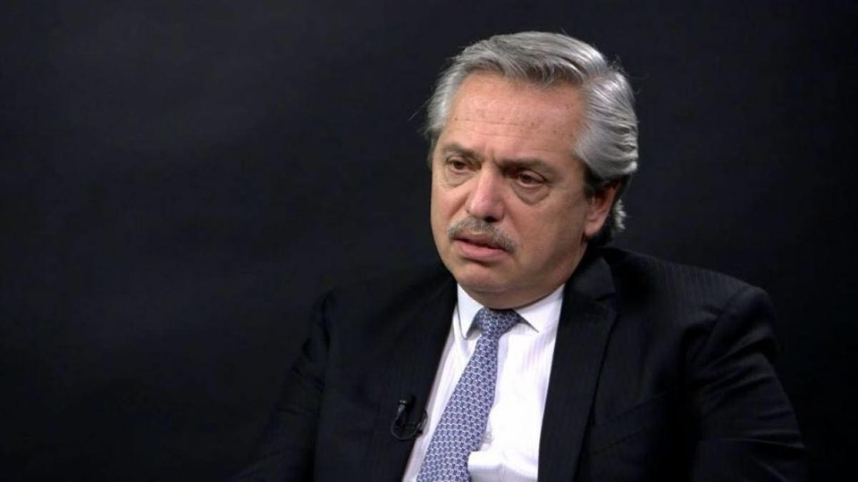 Alberto Fernández. Foto tomada de su cuenta de Facebook