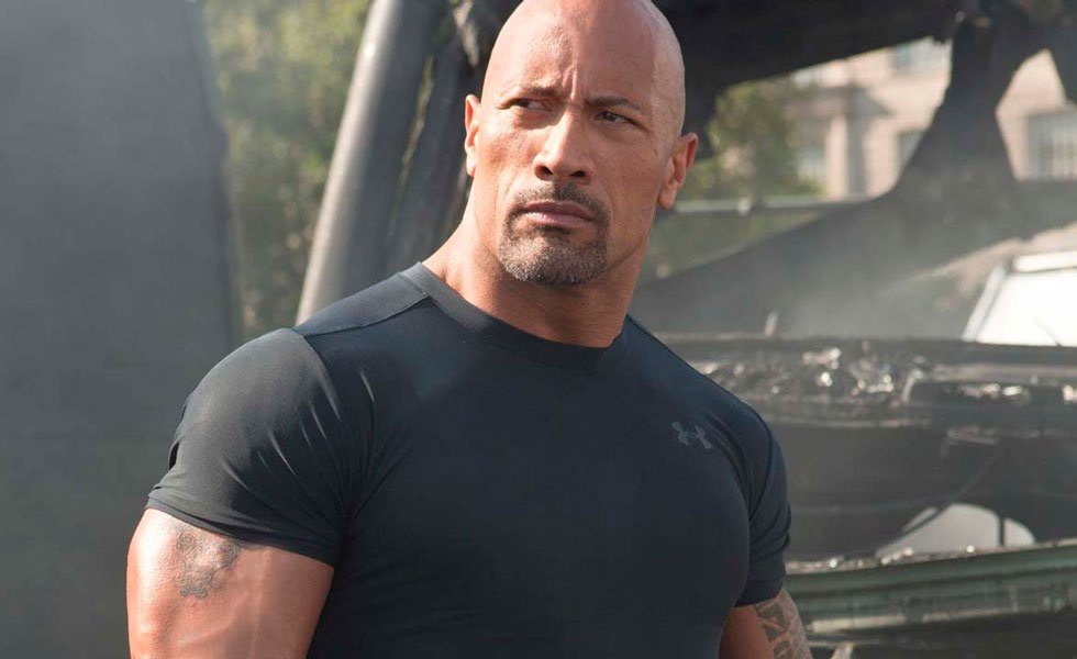 Dwayne Johnson La Roca