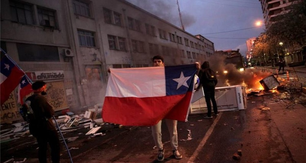 Chile incidentes