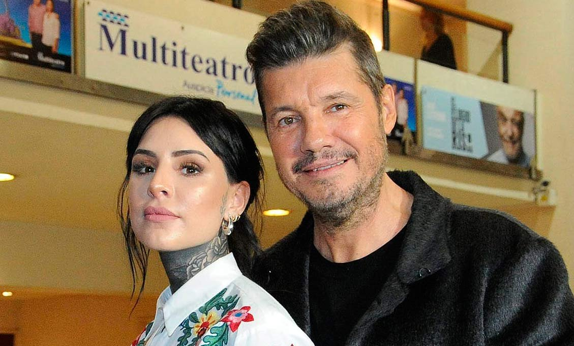 Cande y Marcelo Tinelli.