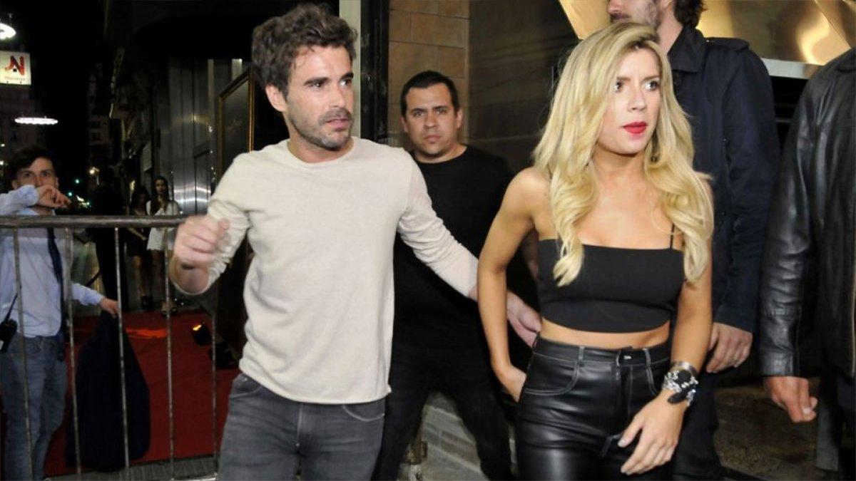 Nicolas Cabré y Laurita Fernández