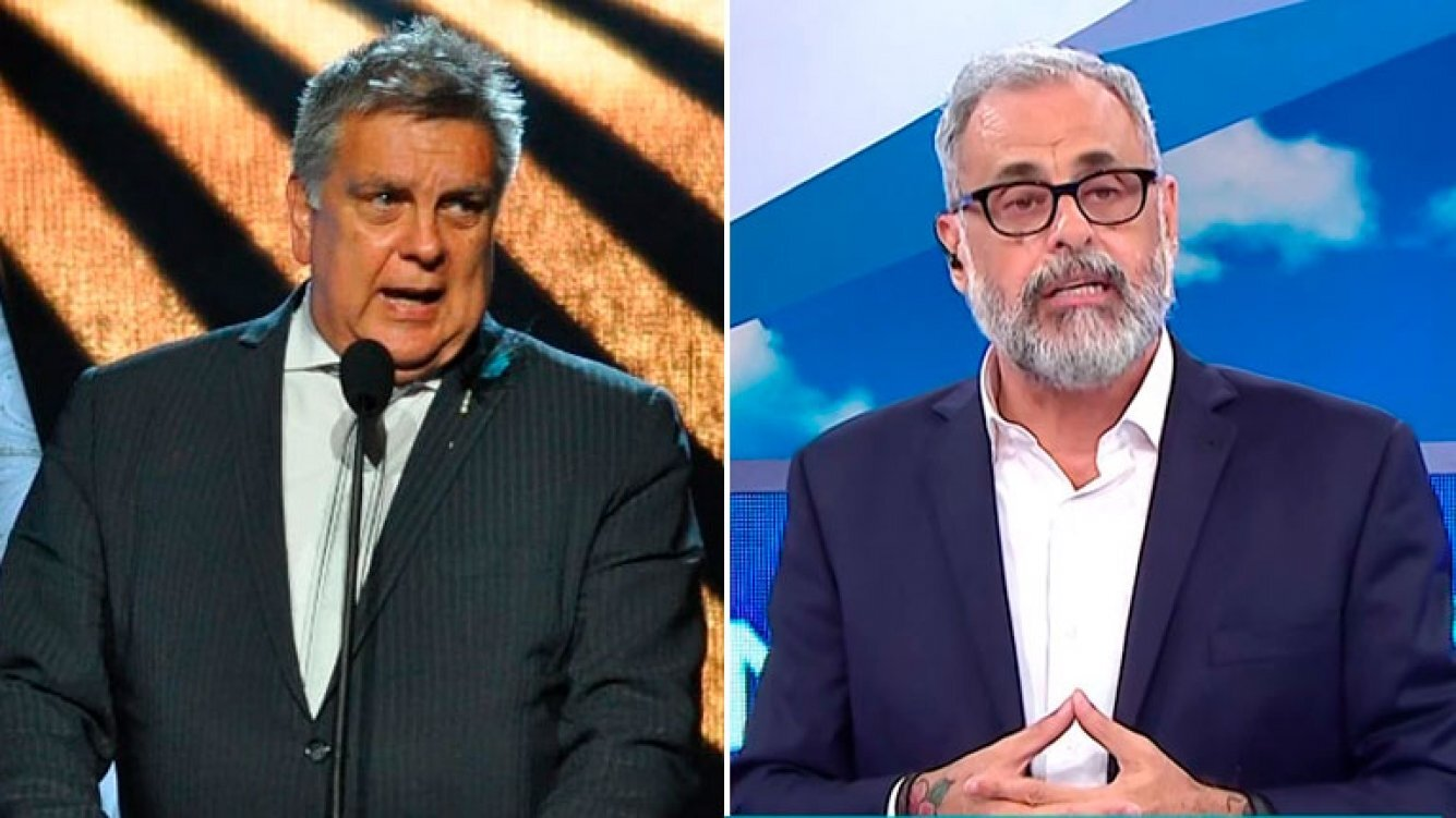 Luis Ventura y Jorge Rial