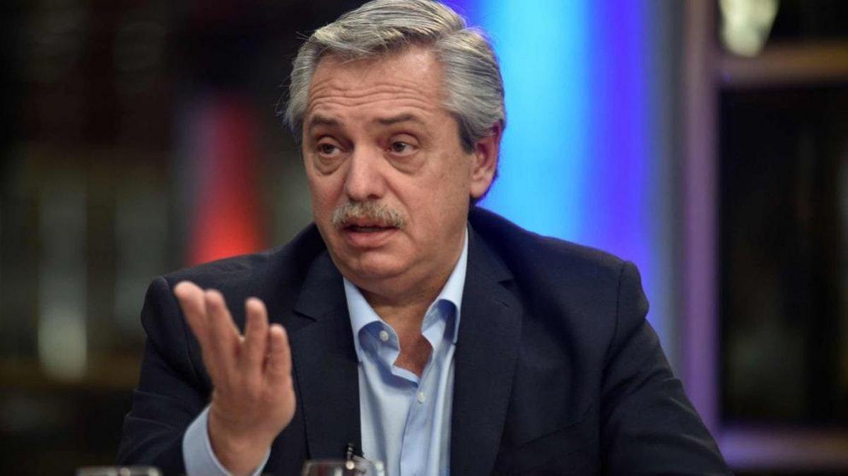 Alberto Fernández Raúl Alfonsín