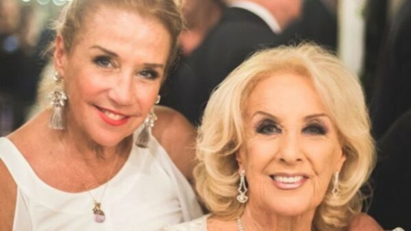 Marcela Tinayre y Mirtha Legrand.