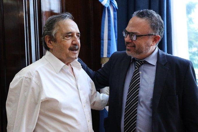 Kulfas para ratificar la embajada para Alfonsín
