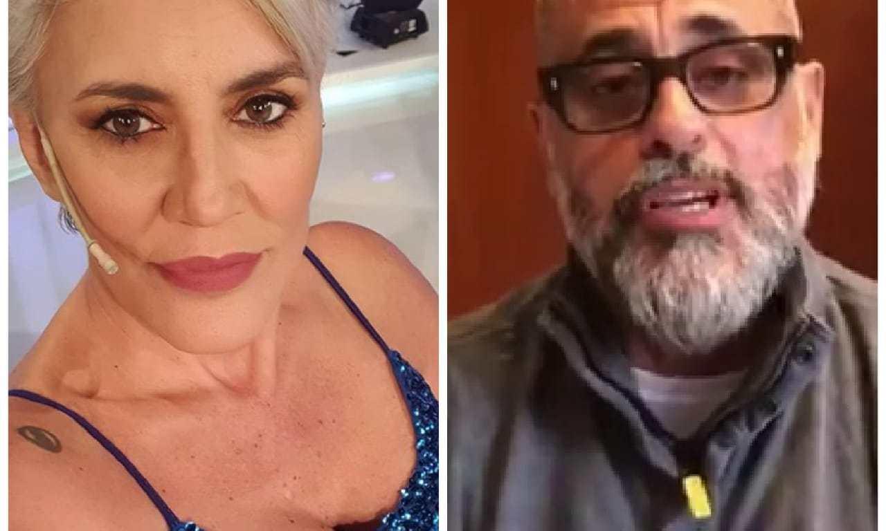 Debora Damato y Jorge Rial