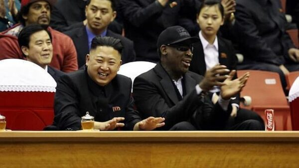 Kim Jong-Un, Dennis Rodman