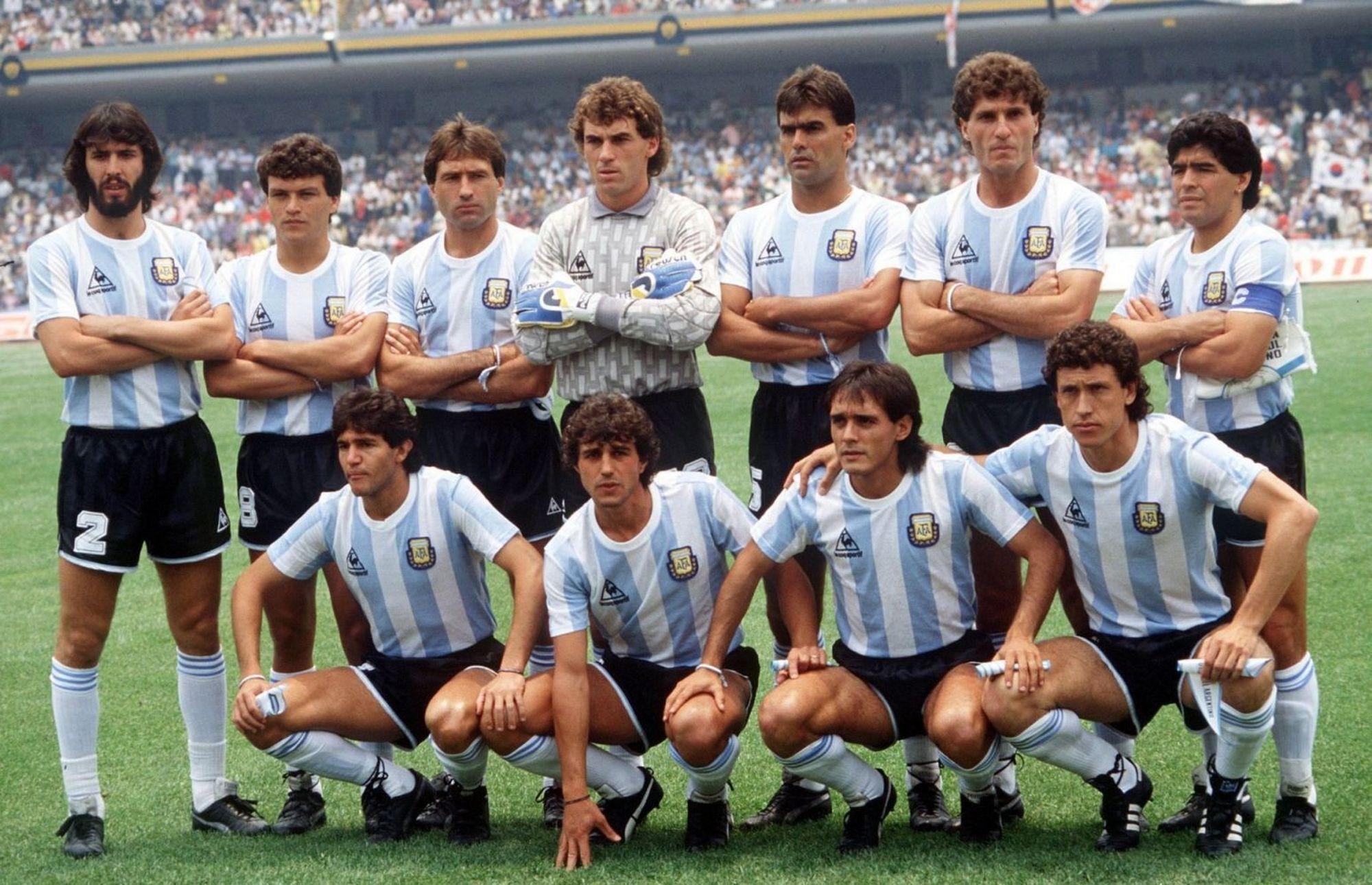 Pumpido campeón con Argentina y River