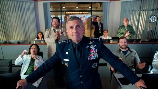 Space Force la nueva comedia de Netflix