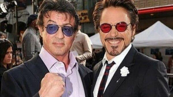 Sylvester Stallone y throwback con celebridades
