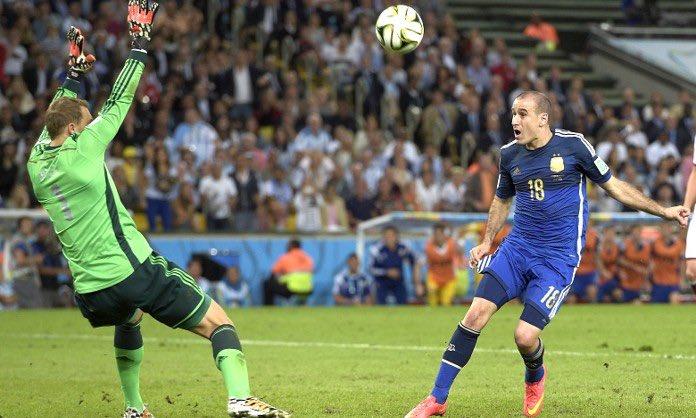 """Era por abajo..."""": la foto de Palacio en la final del Mundial que ..."""