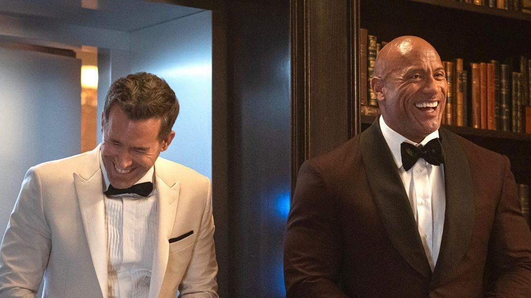 Netflix Ryan Reynolds y Dwayne Johnson La Roca