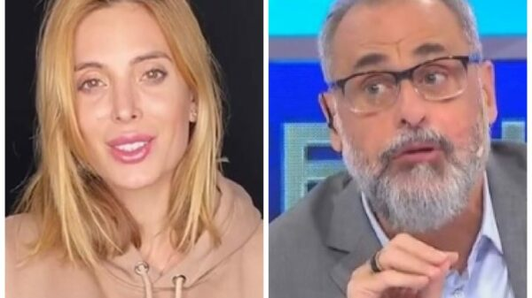 Jesica Cirio y Jorge Rial