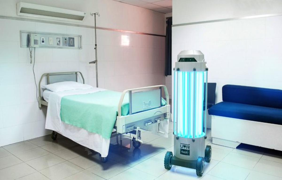 Un robot argentino desinfecta habitaciones e inactiva bacterias ...