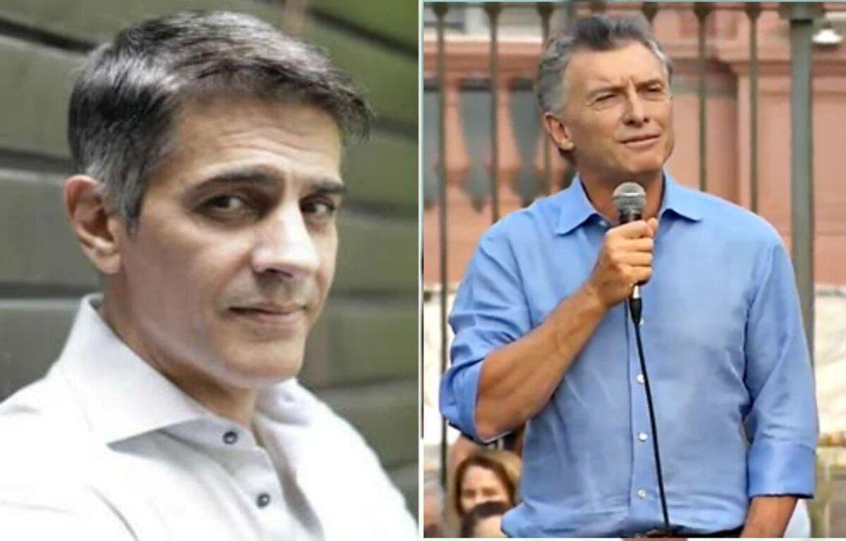Pablo Echarri y Mauricio Macri