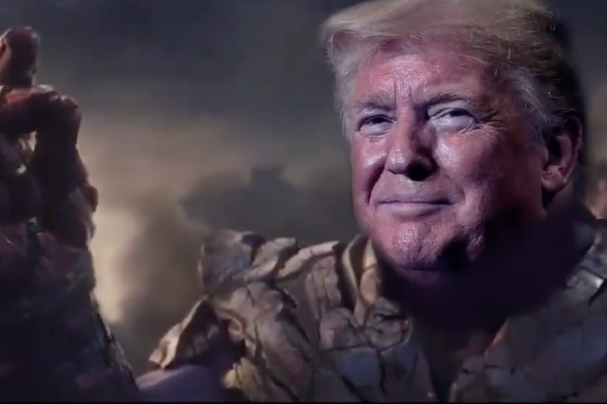 Donald Trump villano