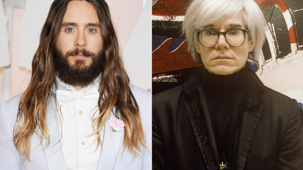 Jared Leto Andy Warhol