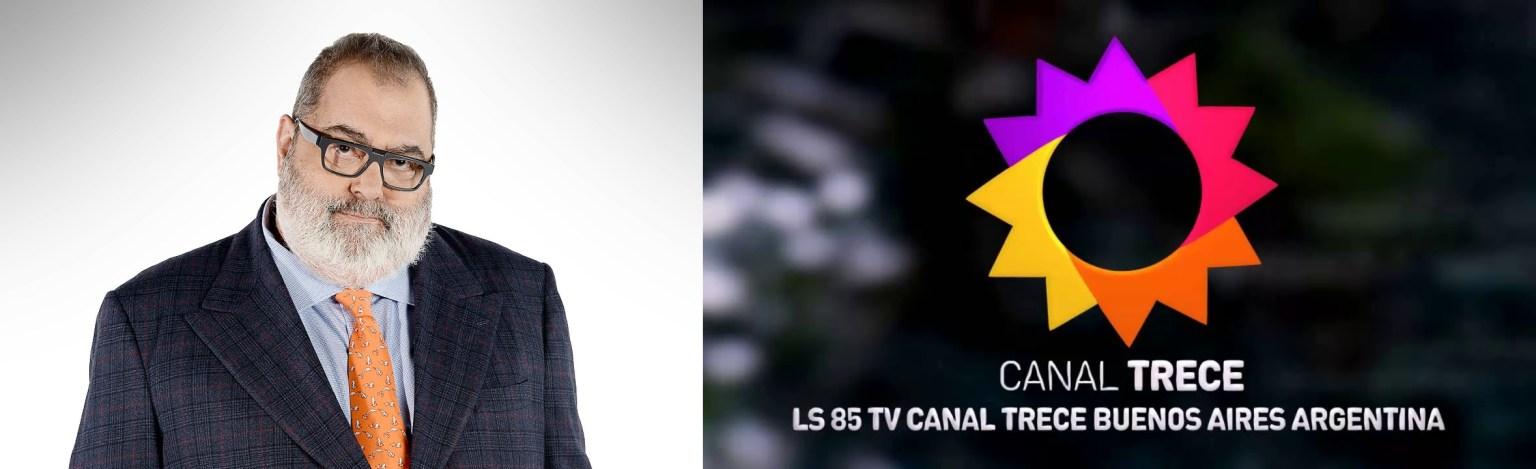 Lanata y Canal 13