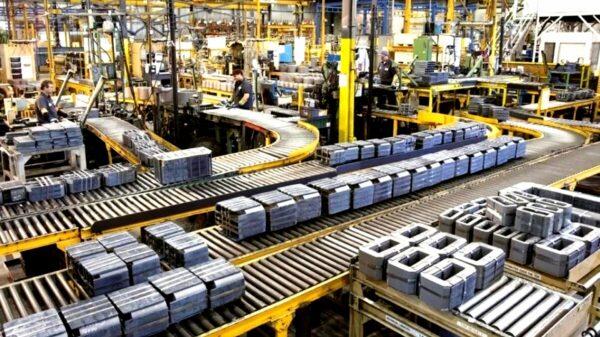 producción industrial