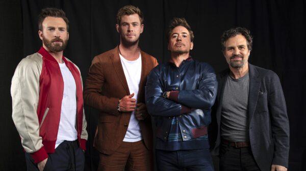 Robert Downey Jr Chris Hemsworth Chris Evans Marvel
