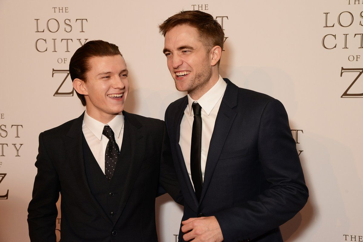 Tom Holland Robert Pattinson Netflix