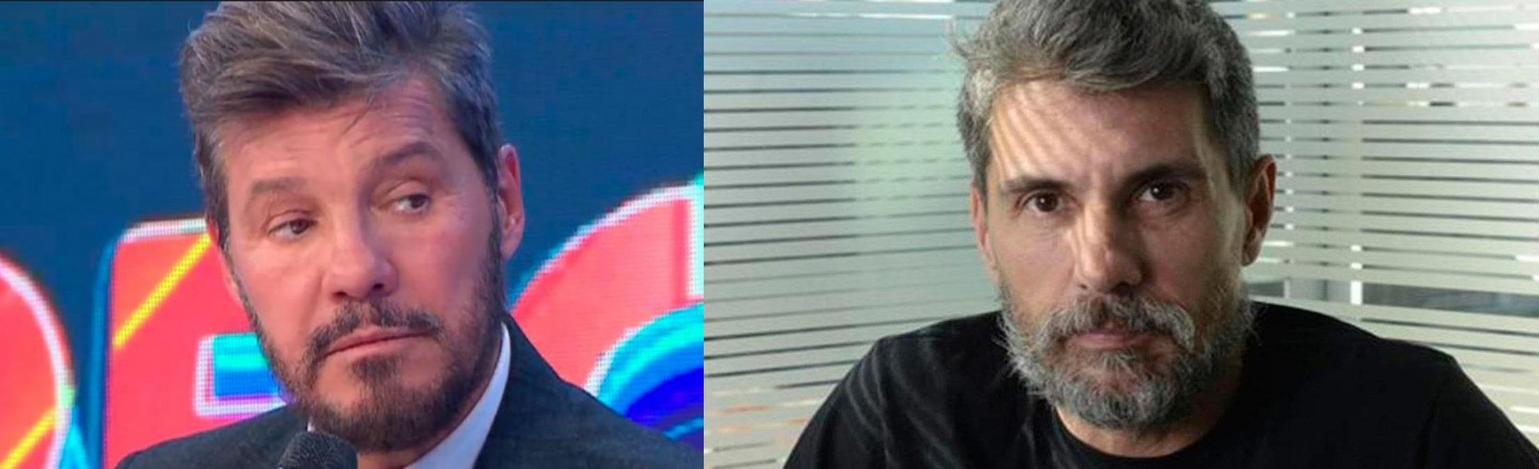Chato Prada y Marcelo Tinelli