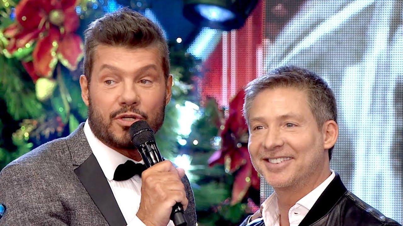 Marcelo Tinelli y Adrián Suar