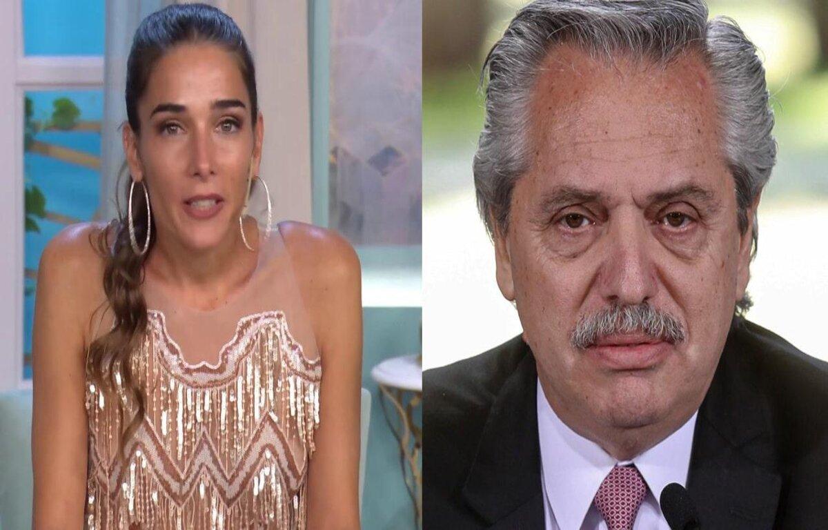 Juana Viale y Alberto Fernández
