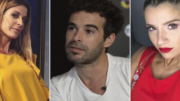 Laurita Fernández, Eugenia Tobal y Nicolás Cabré