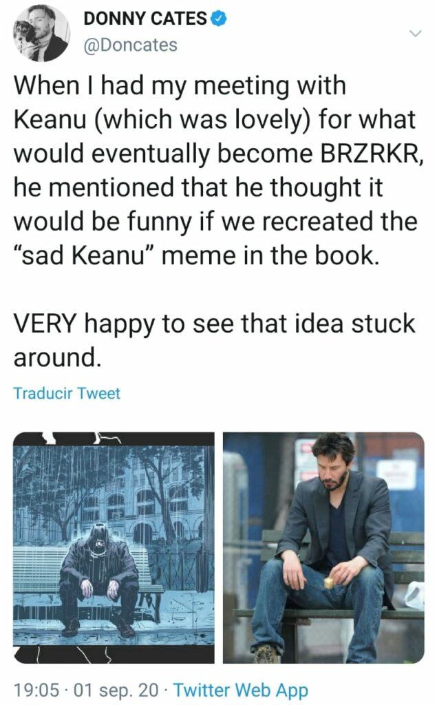 Keanu Reeves Sad Keanu