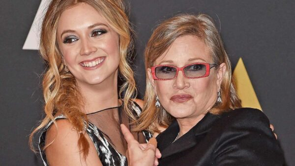 billie-lourd-carrie-fisher Star Wars