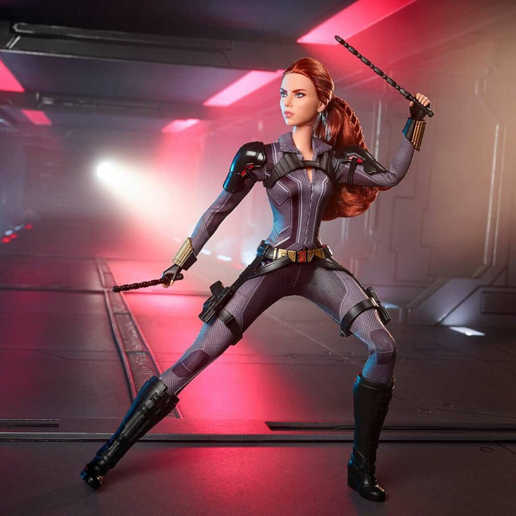 Black Widow Scarlett Johansson Barbie