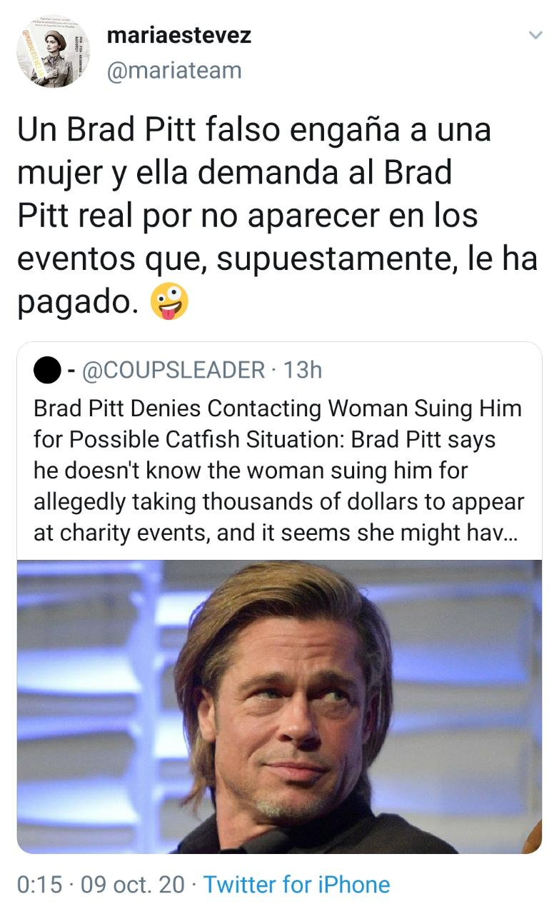 Brad Pitt demand