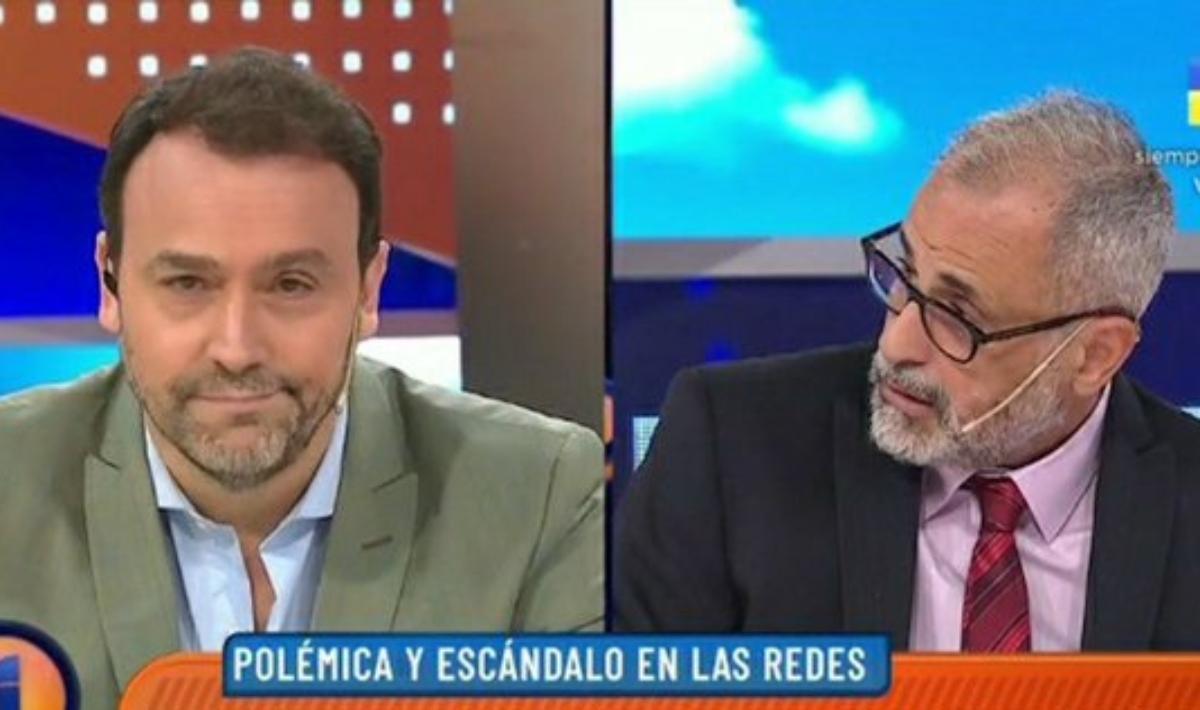 Adrián Pallares y Jorge Rial