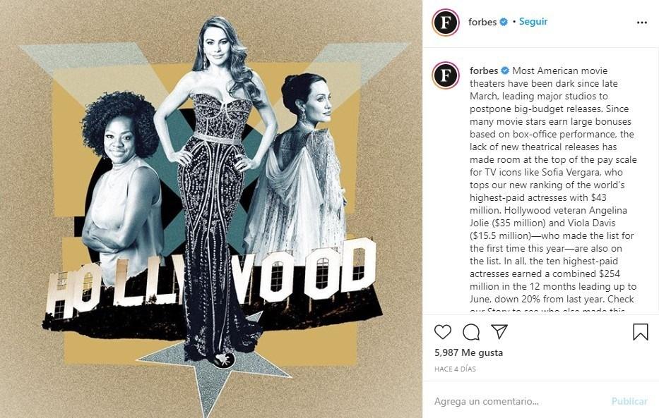 Forbes Scarlett Johansson