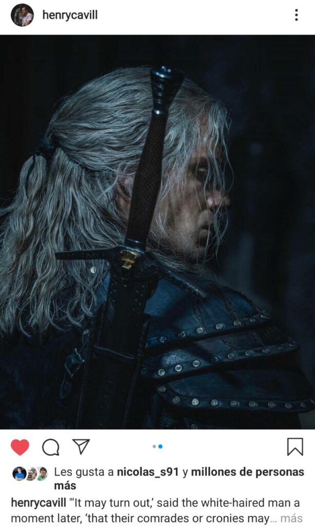 Henry Cavill The Witcher 2