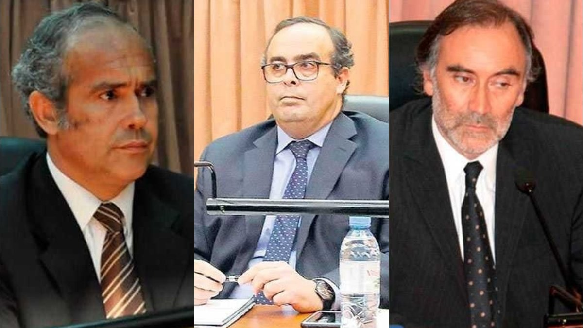 Jueces desplazados
