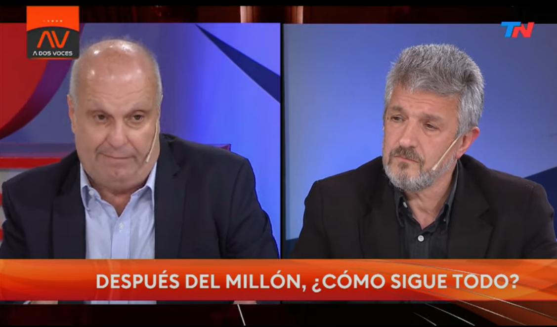 Gustavo López y Hernán Lombardi