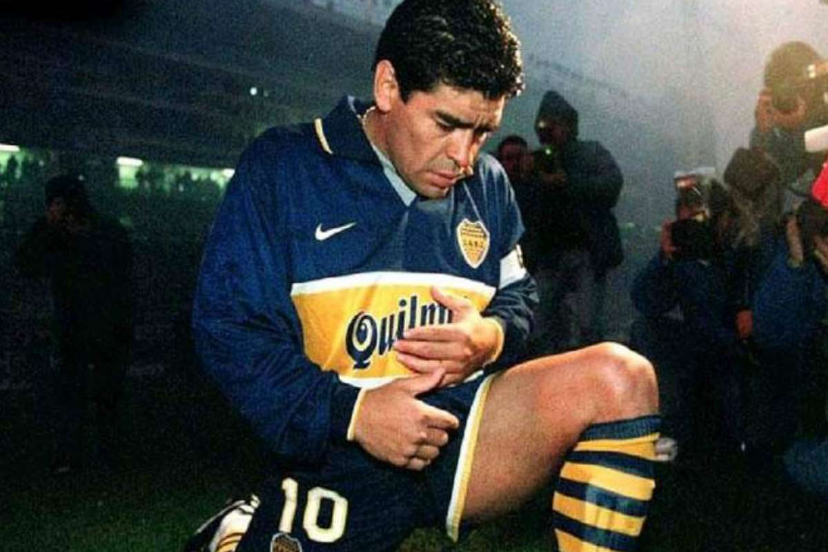 Tristeza pura: así despidió Boca a Maradona - El Intransigente