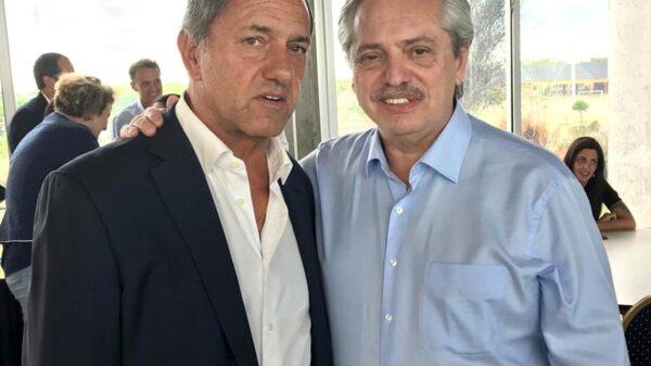 Alberto Fernández Daniel Scioli