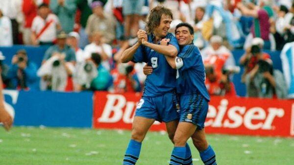 Diego Maradona Gabriel batistuta
