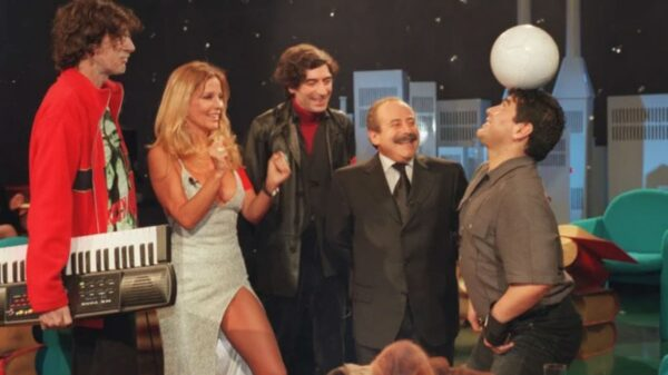 Graciela Alfano Charly garcia Joaquín Sabina Jorge Guinzburg Diego Maradona