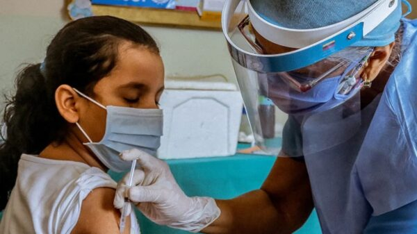Campaña de vacunación en la provincia de Buenos Aires