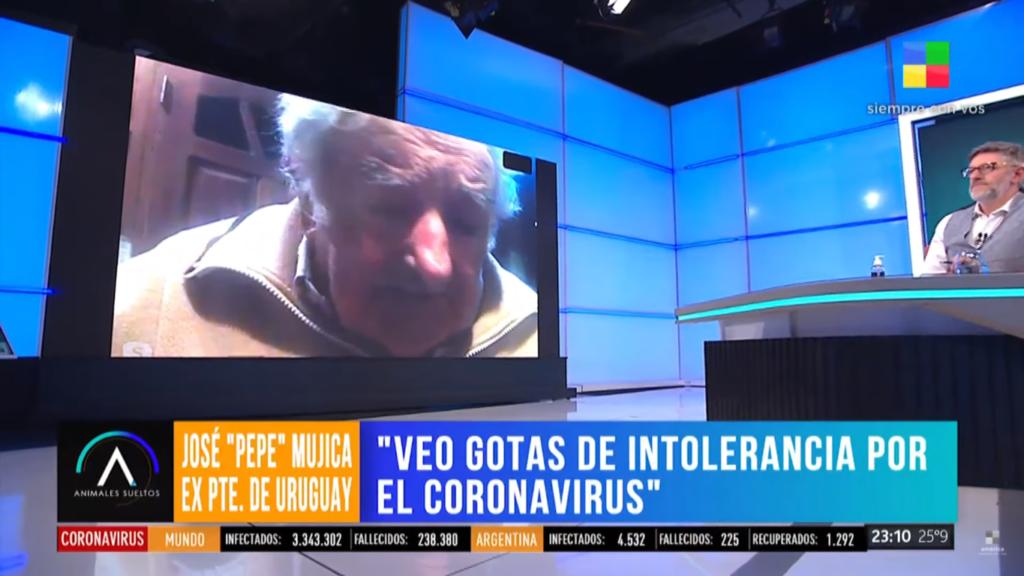 Pepe Mujica con Luis Novaresio