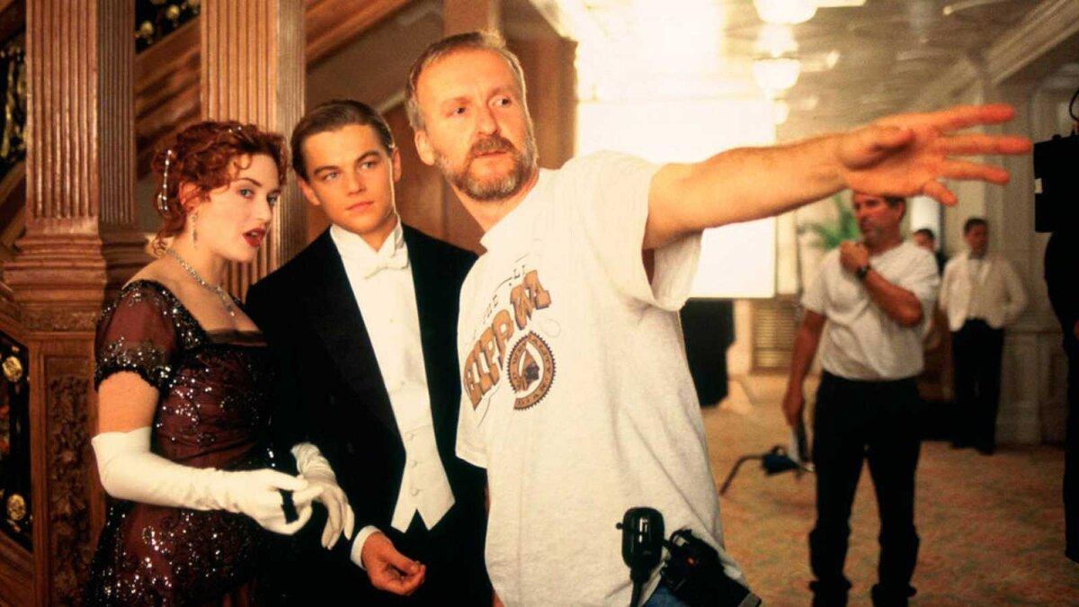 James Cameron Leonardo Dicaprio Kate Winslet