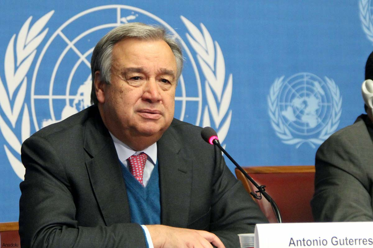 Antonio Guterrez