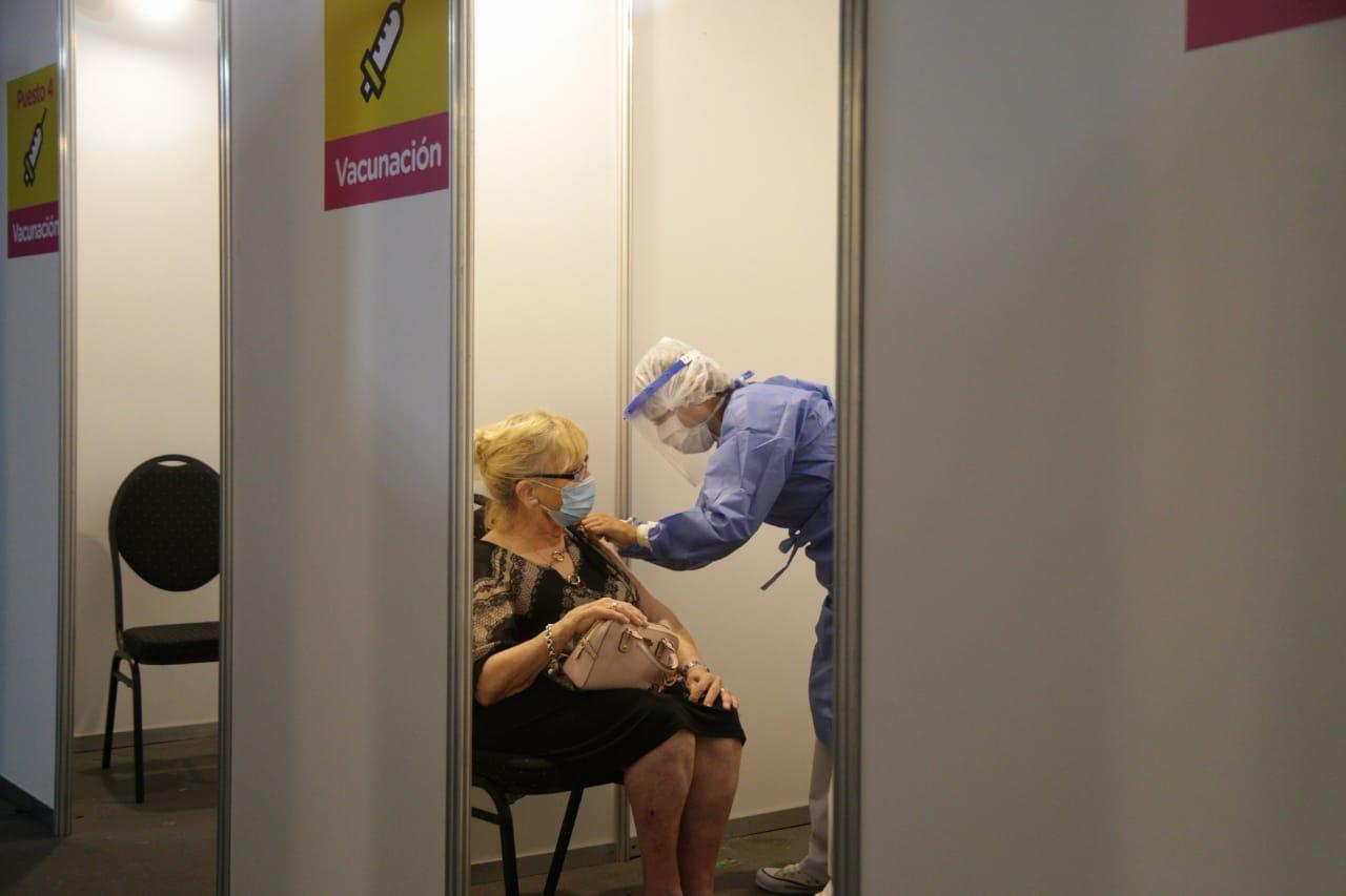 Campaña de vacunación en la Ciudad de Buenos Aires