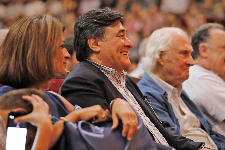 Carlos Zannini vacunatorio VIP