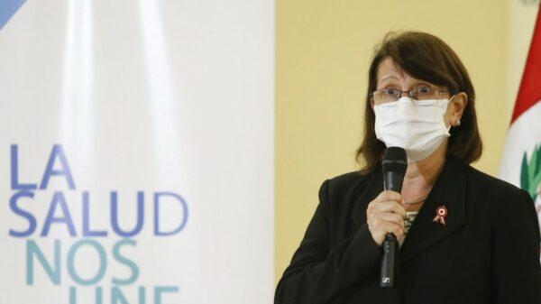 Perú Ministra de Salud