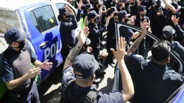 protesta de la Policía bonaerense